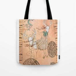 These Mazes We Carry Tote Bag