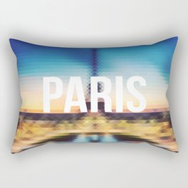 Paris - Cityscape Rectangular Pillow