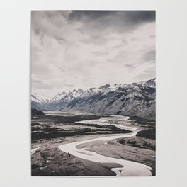 Andes and Patagonia Poster
