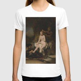 "Rembrandt Harmenszoon van Rijn, ""The Toilet of Bathsheba"", 1643 T-shirt"