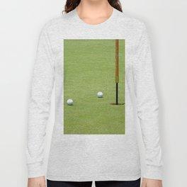 Golf Pin Long Sleeve T-shirt