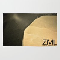 tomb raider Area & Throw Rugs featuring Tomb by ZML Zealous Modern Living