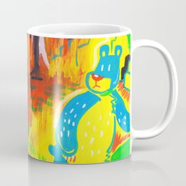 Bear in the Woods Coffee Mug