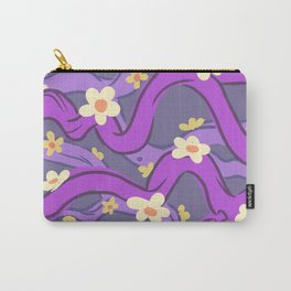 purple vines Carry-All Pouch