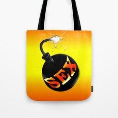 sex bomb Tote Bag