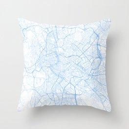 Rome. Blue Period Throw Pillow