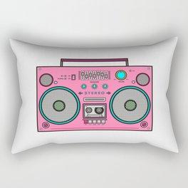 Colorful Radio Rectangular Pillow