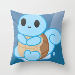 Squirtle chibi Throw Pillow