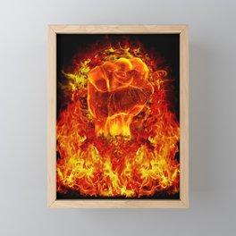 FIRE POWER Framed Mini Art Print
