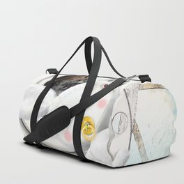 Times and Time rabbits Duffle Bag