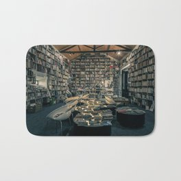 Books Everywhere Bath Mat