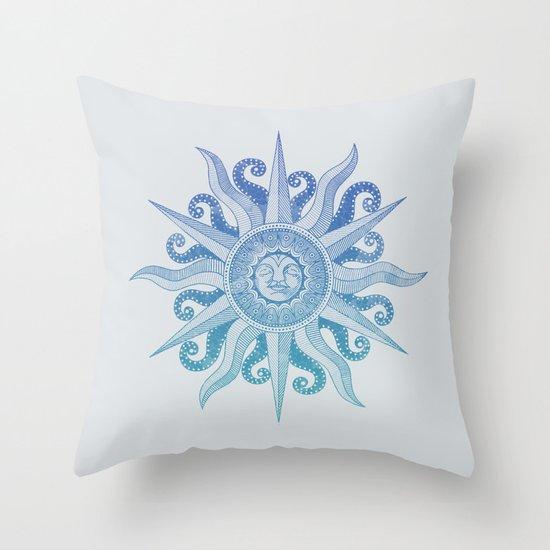 Sun God Throw Pillow