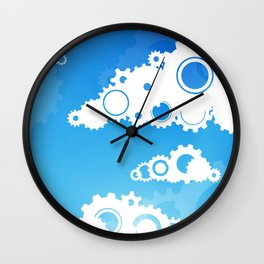 The Cloud Wall Clock