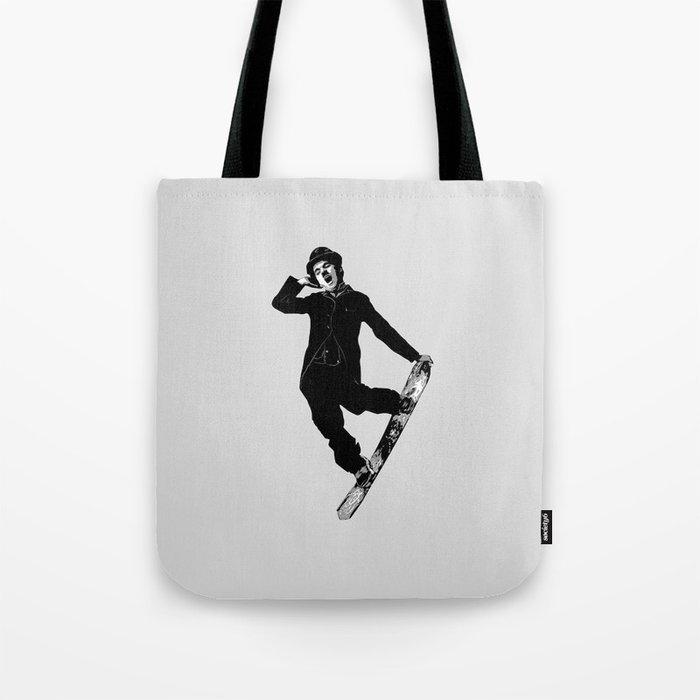 Gnarly Chaplin Tote Bag
