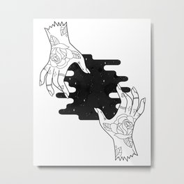 Hands of creation  Metal Print