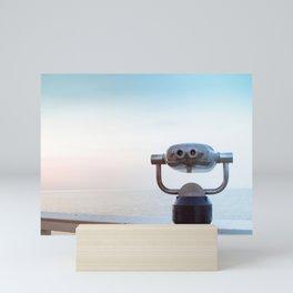 Pastel retro Malibu VI the view ahead Mini Art Print
