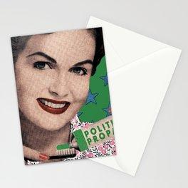 Propaganda paste Stationery Cards