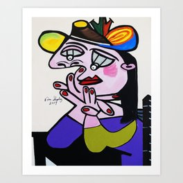 BUG  EYES Art Print