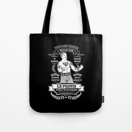 Vintage Boxing - Black Edition Tote Bag