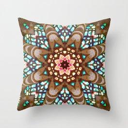 Sagrada Familia - Vitral 1 Throw Pillow