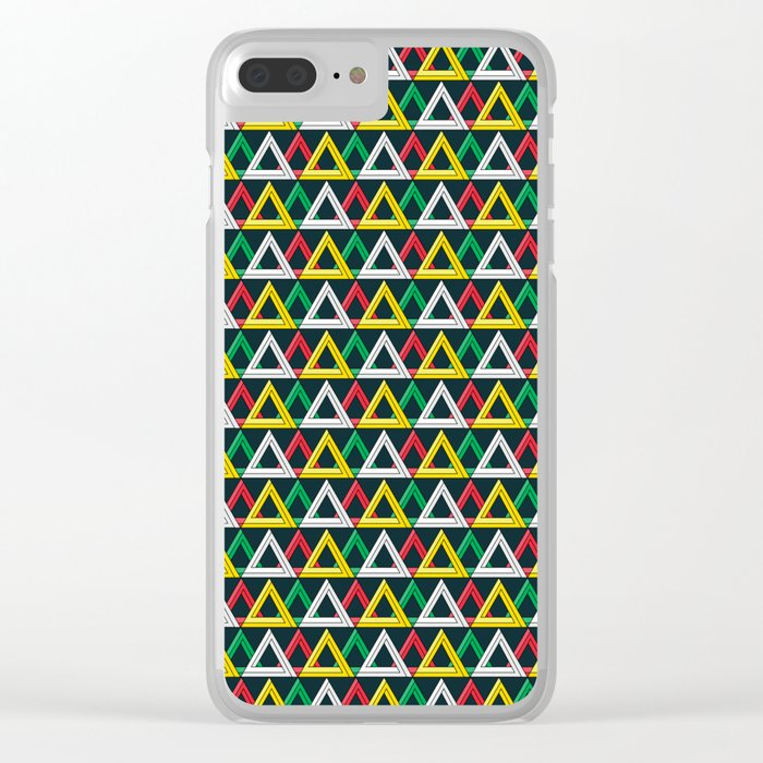 Penrose overload Clear iPhone Case