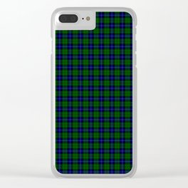 Urquhart Tartan Clear iPhone Case