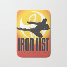 Iron Fist: The Danny Rand Story Poster Bath Mat