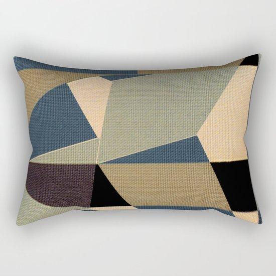 Mosaic Beak Rectangular Pillow