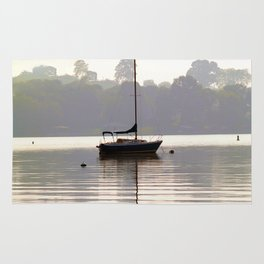 At Rest in Calm Waters- Photographic Collection Rug