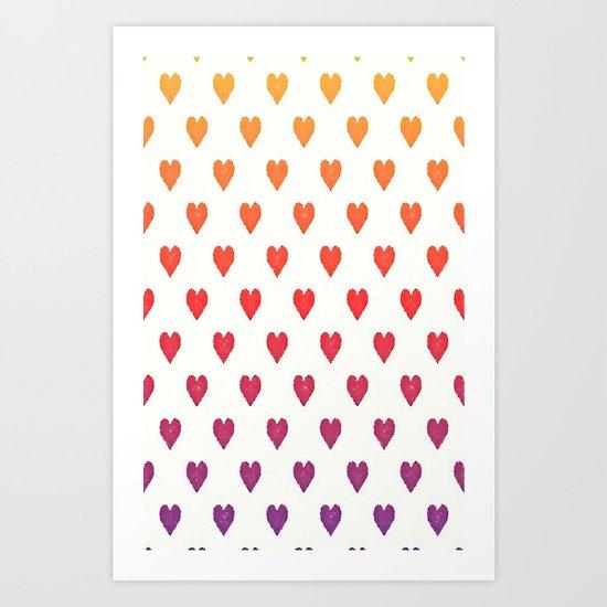 POP heART Art Print