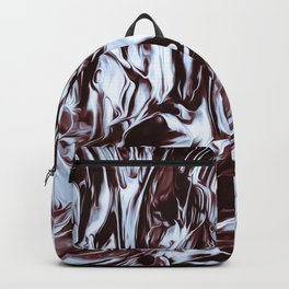 Abstract flow painting v5 Backpack