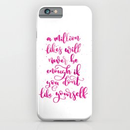 A Million Likes | Original Pink Palette iPhone Case