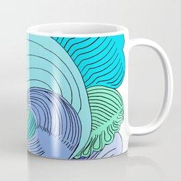 Waves & Fishes Coffee Mug