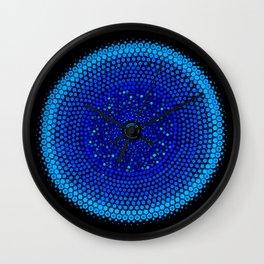 Healing Circle mandala Wall Clock