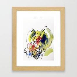 "Fantastic animals ""Pellicano"" Framed Art Print"
