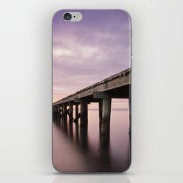 Sunrise by the Warf iPhone Skin