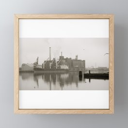 baltimore harbor Framed Mini Art Print