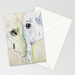 Elephant Friends Stationery Cards