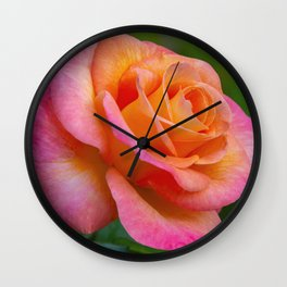 Daybreaker Rose Wall Clock