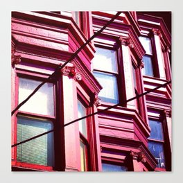 Day Nineteen: Bay Windows Canvas Print
