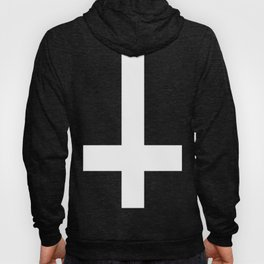 inverted cross Hoody