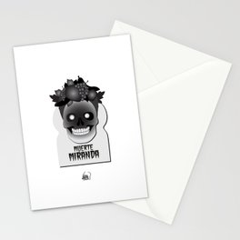 Muerte Miranda Stationery Cards