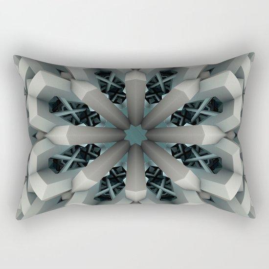 Winter Flakes Rectangular Pillow