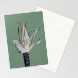 Dancing corn Stationery Cards