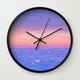 Shimering Ice Wall Clock