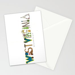 West Virginia - Morgantown Stationery Cards