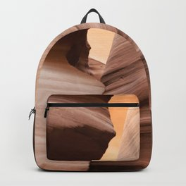 Movement in Lower Antelope Canyon Backpack
