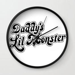 Lil Monsta Wall Clock
