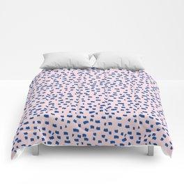Blue Dash Comforters