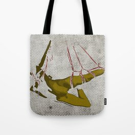 The hanging girl I Tote Bag